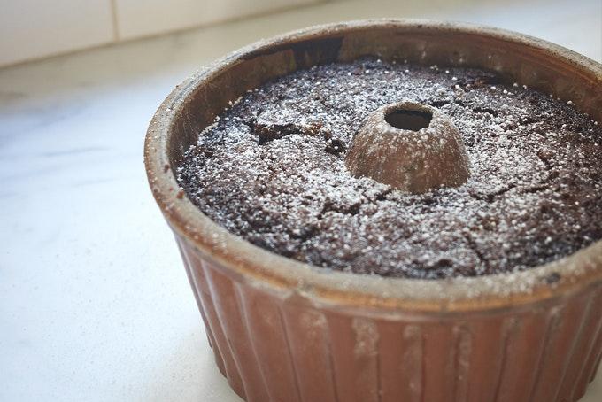 Black Sticky Gingerbread