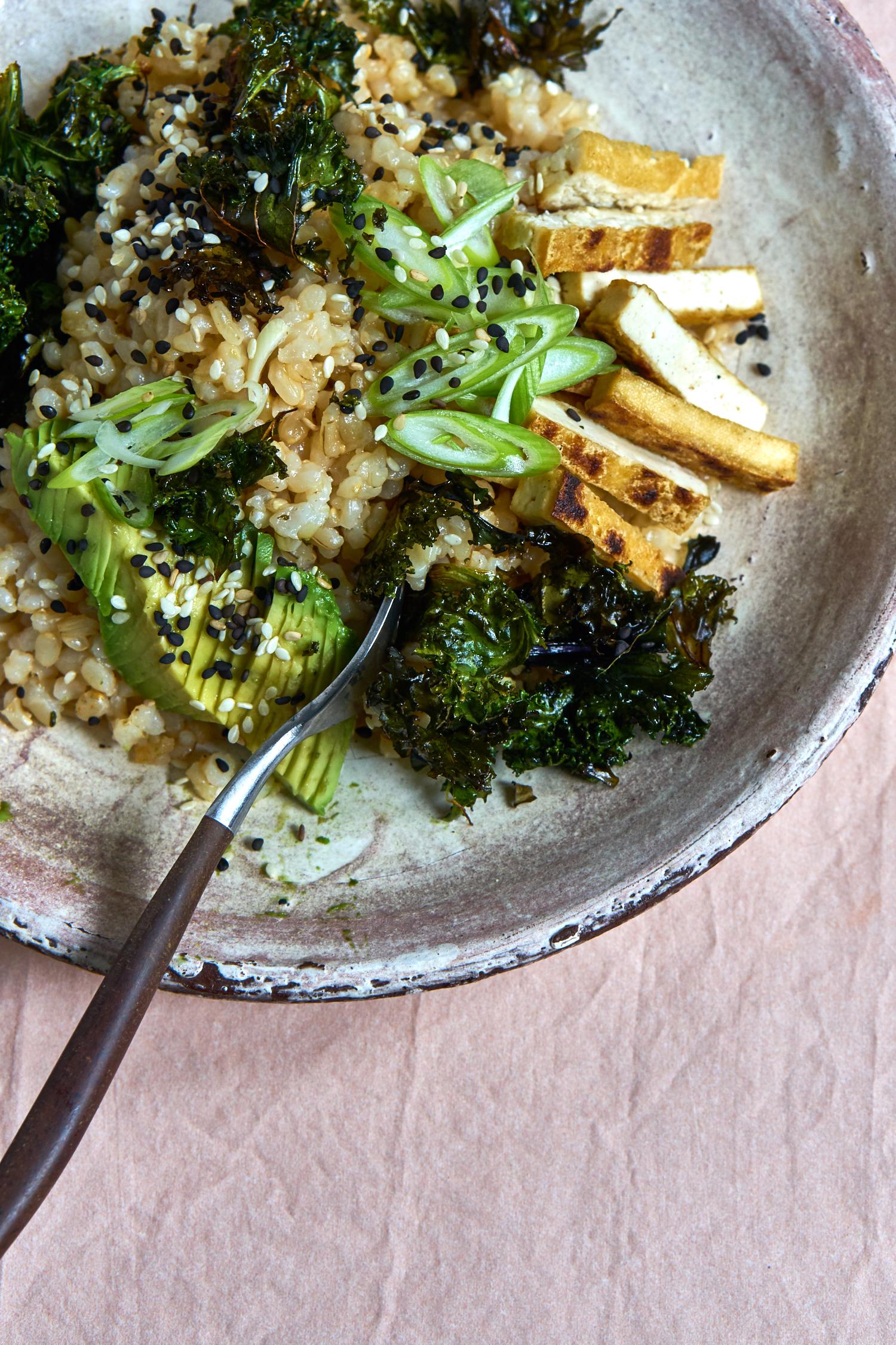 Brown Rice Sushi Bowl