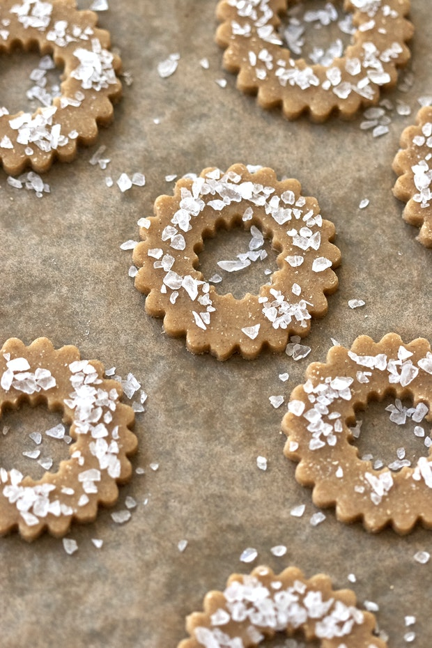 Swedish Rye Cookies before Baking