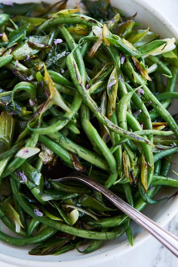 Lively tasty green bean recipe