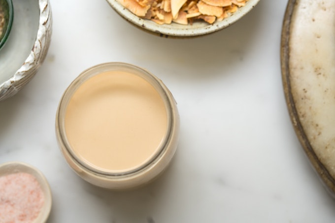 how to make the creamy toasted coconut milk of your dreams