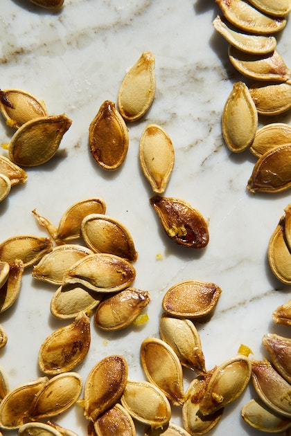 Toasted Pumpkin Seeds: Three Ways