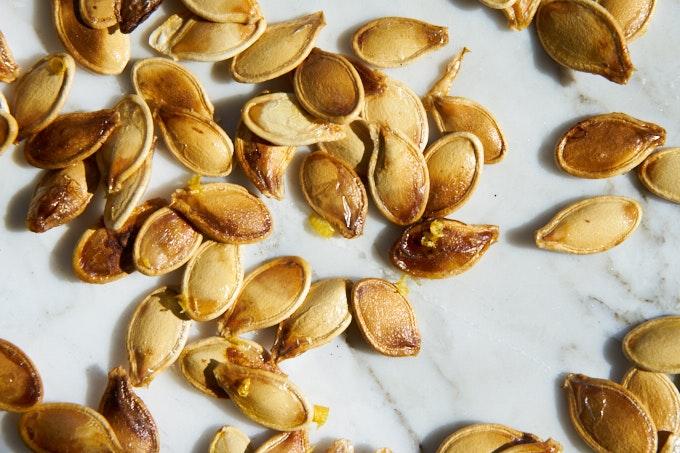 Toasted Pumpkin Seeds: Three Ways