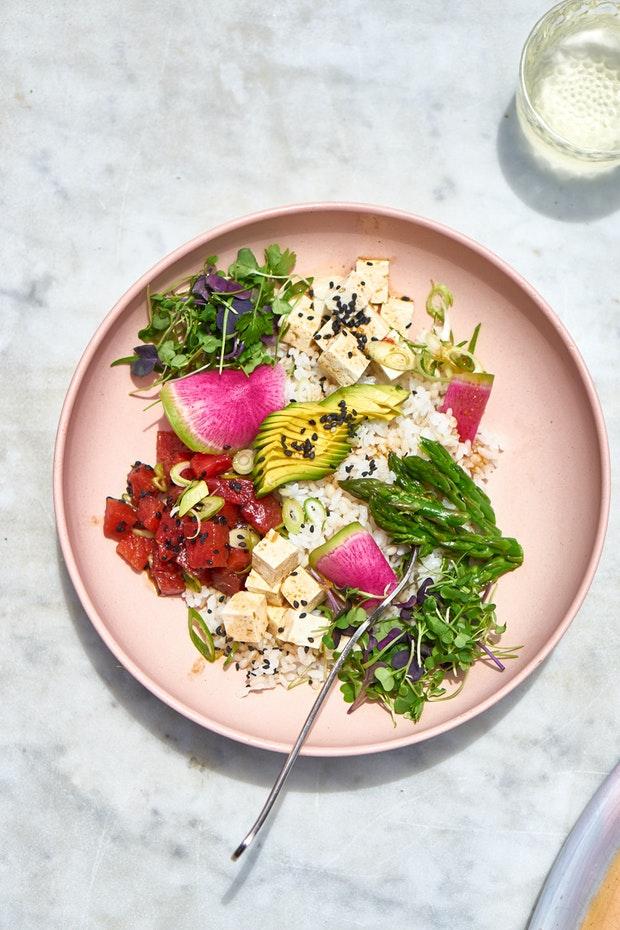 How to Make a Great Vegetarian Poke Bowl