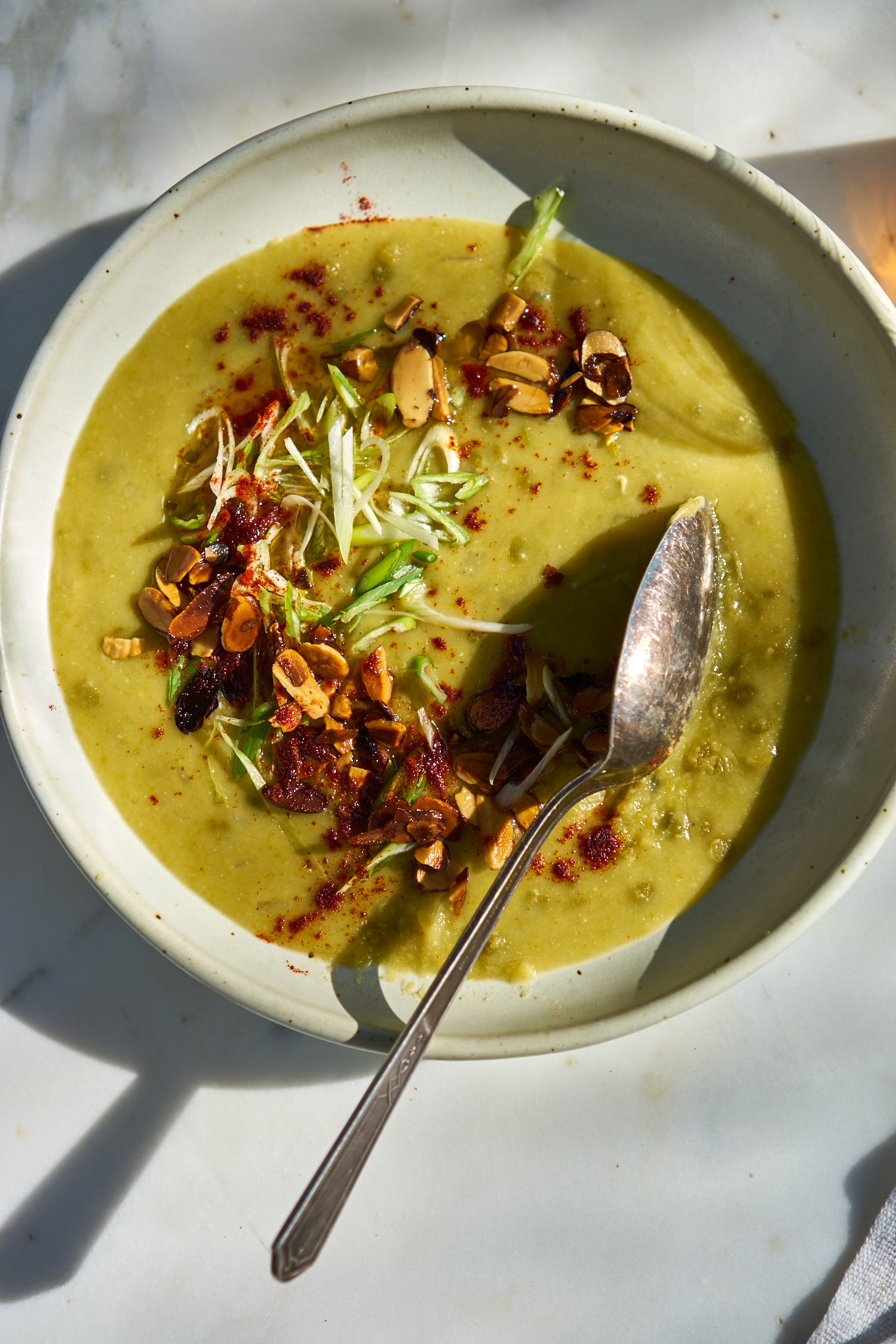 A Really Great Vegetarian Split Pea Soup