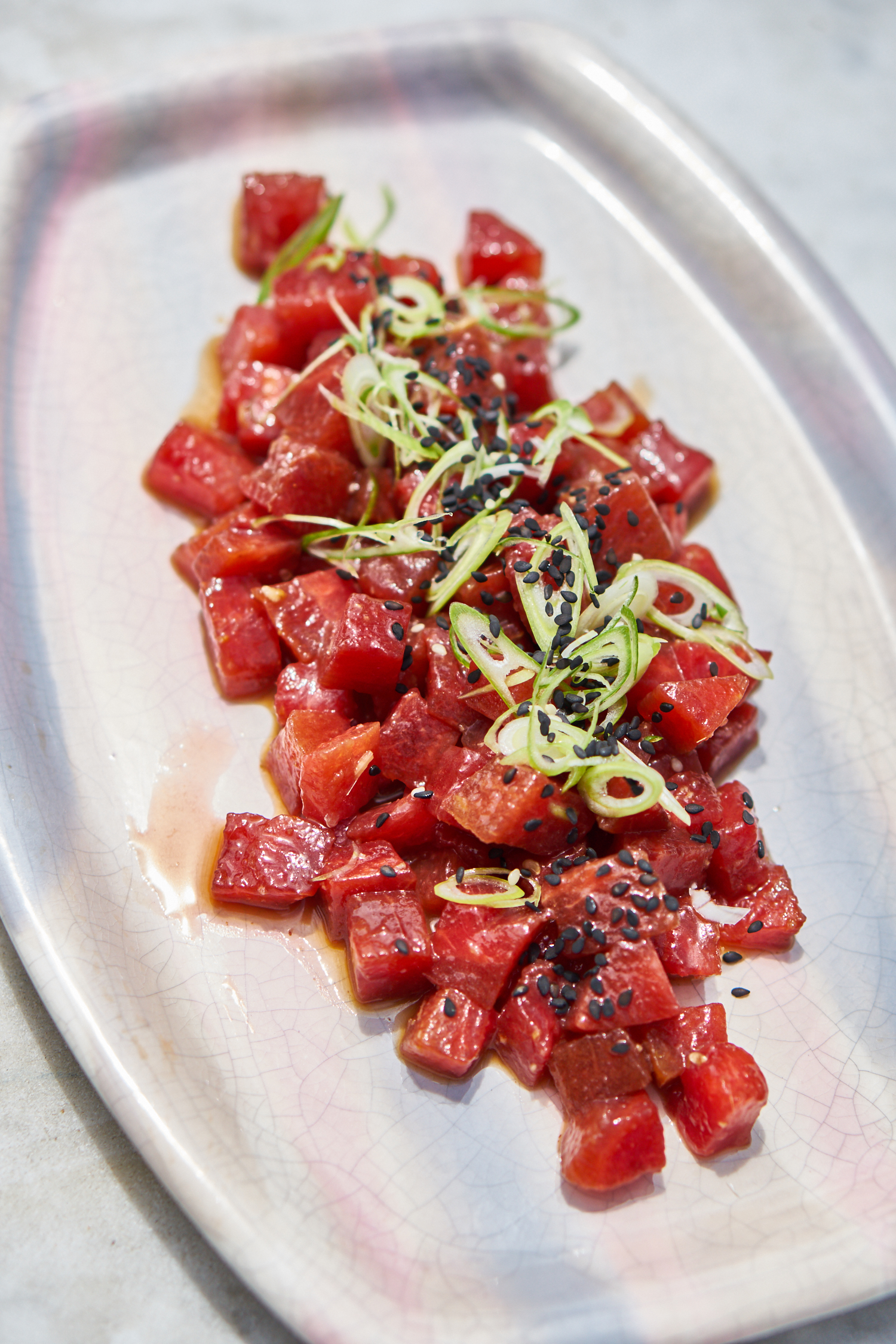 Watermelon Poke Recipe